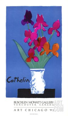 Buschlein Mowatt Gallery, Art Chicago '91 Collectable Print by Bernard Cathelin at Art.com