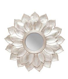 espelho flor   http://www.saladesign.com.br/blog/