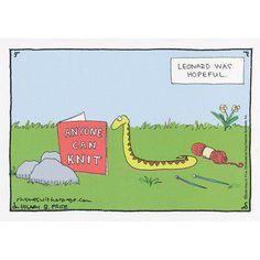 New Ideas Knitting Humor Cartoons Hilarious Knitting Quotes, Knitting Humor, Crochet Humor, Knit Crochet, Crochet Mandala, Crochet Afghans, Crochet Blankets, Double Crochet, Crochet Stitches