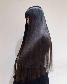 Pretty Hairstyles, Wig Hairstyles, Straight Hairstyles, Voluminous Hair, Natural Hair Styles, Long Hair Styles, Long Hair With Bangs, Super Long Hair, Lace Hair