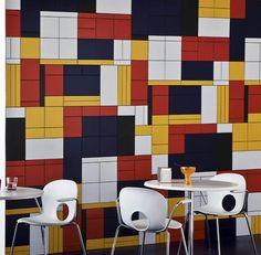 tile mosaic #De Stijl