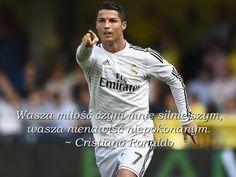 Cristiano Ronaldo Wasza miłość cytaty piłkarskie #quotes #cytaty #football #soccer #sports #pilkanozna #ronaldo #cristianoronaldo