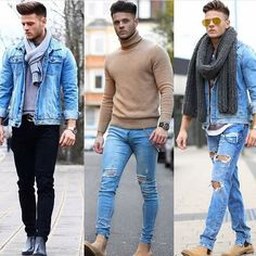 Comment below: 1,2, or 3? . Follow @mens.fashion.chronicle for more! .  @johnnysteger