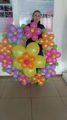 Balloon art Eid Balloons, Photo Balloons, Balloons And More, Balloons Galore, Balloon Hat, Balloon Crafts, Balloon Flowers, Balloon Decorations, Ballon Arch