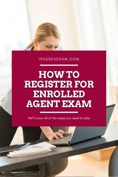 Are you registering for #EAExam soon? Here's how to complete the registration with ease: #EA Enrolled Agent, High Stakes Testing, Accounting Career, Right To Choose, Test Day, Career Path, Study Materials, Graduate School, First Step