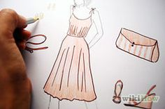 How to Design Clothes. Fashion design is an exciting, constantly evolving field. It also takes a lot of work, and can be incredibly competitive. If you want to become a successful fashion designer, you have a long road ahead of you, but. Outfit Essentials, Fashion Design Drawings, Fashion Sketches, Clothing Sketches, Fashion Illustrations, Men's Casual Fashion Tips, Casual Outfits, Trendy Fashion, High Fashion