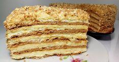 """Классный рецепт - Торт """"Сметанник"""" на скорую руку! Сегодня я приготовлю самый лёгкий рецепт сметанника на сковороде"""