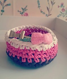 Crochet basket for my sweetheart