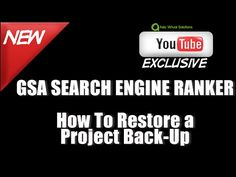 GSA Search Engine Ranker   Restore a data pack from Asia Virtual Solutions - http://www.highpa20s.com/link-building/gsa-search-engine-ranker-restore-a-data-pack-from-asia-virtual-solutions/
