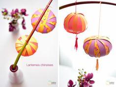 DIY Nouvel an chinois : les lanternes / madame citron http://madame-citron.fr/diy-tuto-boule-chinoise/