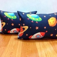 Cushion / Bantal Sofa |SPACESHIP| Spaceship, Cushions, Sofa, Throw Pillows, Cover, Space Ship, Settee, Spacecraft, Cushion