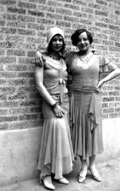 Beatrice & Unknown Friend - Circa 1929