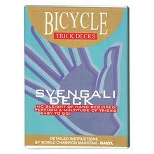 Svengali Deck Mandolin Bicycle (Blue)