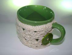 Coffee Cup Cozy in Aran SC Magic Crochet by CreativeEndeavorsKS, $17.50