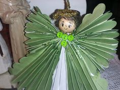 Paper Angel Ornament perfect for Baptism by GracelinePaperStudio