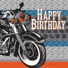 """16 """"Motorbike"""" Servietten"""