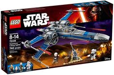 """LEGO Star Wars X Wing Star Fighter. Looking for great deals on """"LEGO Star Wars X Wing Star Fighter""""? Compare prices from the top online toy retailers. Save big when buying your favorite LEGO sets. Lego Star Wars, Theme Star Wars, Star Wars Toys, Disney Star Wars, X Wing Fighter, Toys R Us, Peppa Pig Familie, Jouet Star Wars, Train D'atterrissage"""