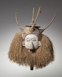 Mask , early 1900s. Central Africa, Democratic Republic of the Congo, Yaka , early 20th century.
