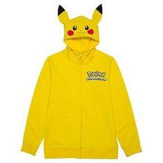 Boys' Pikachu Costume Hood Sweatshirt - Yellow M : Target