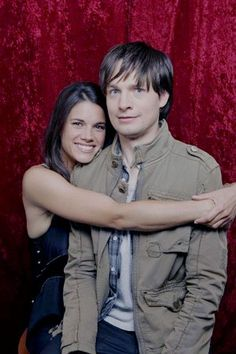 Missy Peregrym and Gregory Smith (Rookie Blue) Rookie Blue, Blue Tv Show, Gregory Smith, Story Of My Life, Stock Pictures, Psych, Royalty Free Photos, Veronica, Favorite Tv Shows