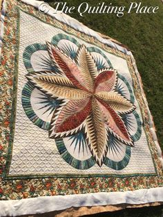 Fire Island Hosta, Quiltworx.com, Made by CI Jan Mathews, Quilted by Brandy Rayburn