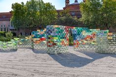 On May 12, 2017, on the occasion of the 57th International Art Exhibition – La Biennale di Venezia, Qwalala, a monumental new sculpture by American artist Pae White, will open to the public on the Island of San Giorgio Maggiore in Venice.