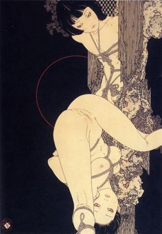 the dark Ukiyo-e side of Japanese tradition-Takato Yamamoto