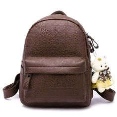 2ce60c405dc9 soft pu leather women backpack for girls small Fashion plaid back pack  Female shoulder bag black back bag mochilas mujer 2018