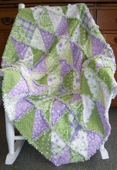 Patchwork Quilting, Quilting Tips, Quilting Projects, Quilting Designs, Sewing Projects, Craft Projects, Butterfly Kisses, Rag Quilt Patterns, Baby Rag Quilts
