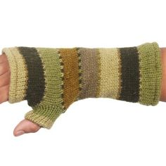 Handwarmer with stripes
