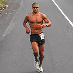 David Goggins...ex Navy Seal...ultra marathon runner.  Can you imagine running a 135 mile race in death valley?  I hope to one day have just a fraction of his fitness.