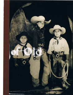 young ranch cowboys