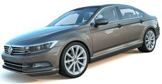 Volkswagen Passat 3d model, mid-size family car. High Detailed exterior and medium detailed interior, good for closeup renders. Tri faced medium resolution mesh, highly detailed 3d model of Volkswagen Passat with Vray materials and textures. Motion Capture, Volkswagen, Mesh, Exterior, 3d, Medium, Vehicles, Model