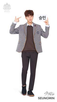 Lee Min Ho, Ivy Club, Sung Lee, Stray Kids Seungmin, Fandom, Extended Play, Lee Know, School Uniform, Kpop Boy