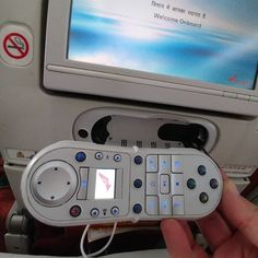 Omg. Awesome. Game controller in the plane seat. #startuplife @echosec.search