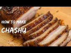 How to Make Chashu (Recipe) チャーシュー・煮豚の作り方(レシピ) - YouTube