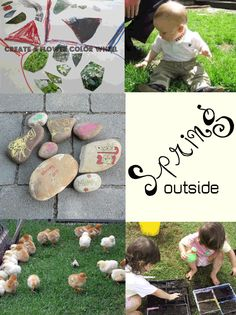 5 Fun ideas for connecting with Spring for toddlers and preschoolers