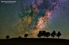Astrophotographer Mike Salway, Milky Way