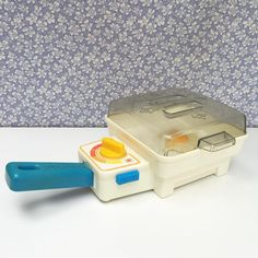 Orangevertevintage — Poêle à Frire Fisher Price Vintage Super Skillet Toy