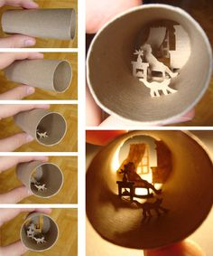 World In A Toilet Paper Roll - Gallery