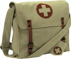 I love canvas messenger bags.  This is great.
