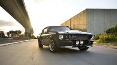 1967 Eleanor Mustang Shining in the Sunset