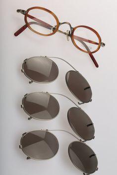 9d1ba7d338 Matsuda 10402SF AS   Vintage clip on eyeglasses by CarettaVintage