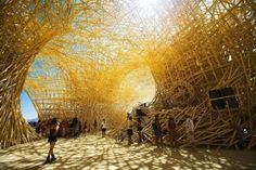 burning man structures - Google Search