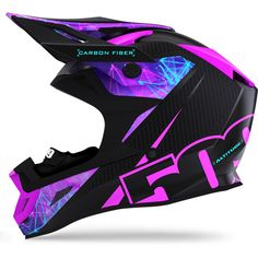 509 Altitude Carbon Fiber Helmet with Fidlock Snowmobile Clothing, Snowmobile Helmets, Dirt Bike Helmets, Dirt Bike Gear, Dirt Bikes, Bicycle Helmet, Carbon Fiber Helmets, Seamless Transition, Cafe Racer Bikes