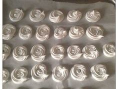Μαρεγκάκια ή Μπεζέδες φωτογραφία βήματος 6 Icing, Silver, Money