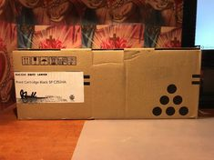 Genuine Ricoh 407653 Black Toner Cartridge - Factory Sealed #Ricoh Ricoh Toner, Ink Toner, Toner Cartridge, Seal, Black, Black People, Harbor Seal