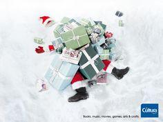 Saisonale Werbung – Alle Jahre wieder ... wie nutzen Sie die Feiertage? | #ads #xmas #santa #adv #marketing #creative #publicité #print #poster #advertising #campaign < repinned by www.BlickeDeeler.de | Have a look on www.Printwerbung-Hamburg.de