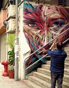 new by Hopare in Hong Kong, 3/15 (LP)  #streetart jd