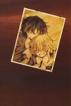 Pandora hearts Gil et vince enfants Manga Anime, Anime Couples Manga, Sad Anime, Cute Anime Couples, Manga Art, Anime Art, Anime Girls, Pandora Hearts Break, Pandora Hearts Gilbert